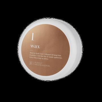 Hårvoks med let hold - Wax 1