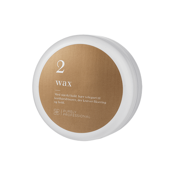 Hårvoks med stærkt hold - Wax 2