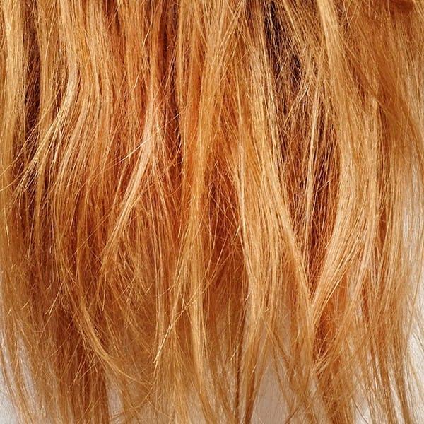 farvet og kemisk behandlet hår