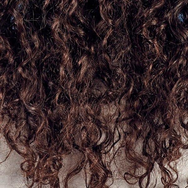 krøller i kraftigt hår