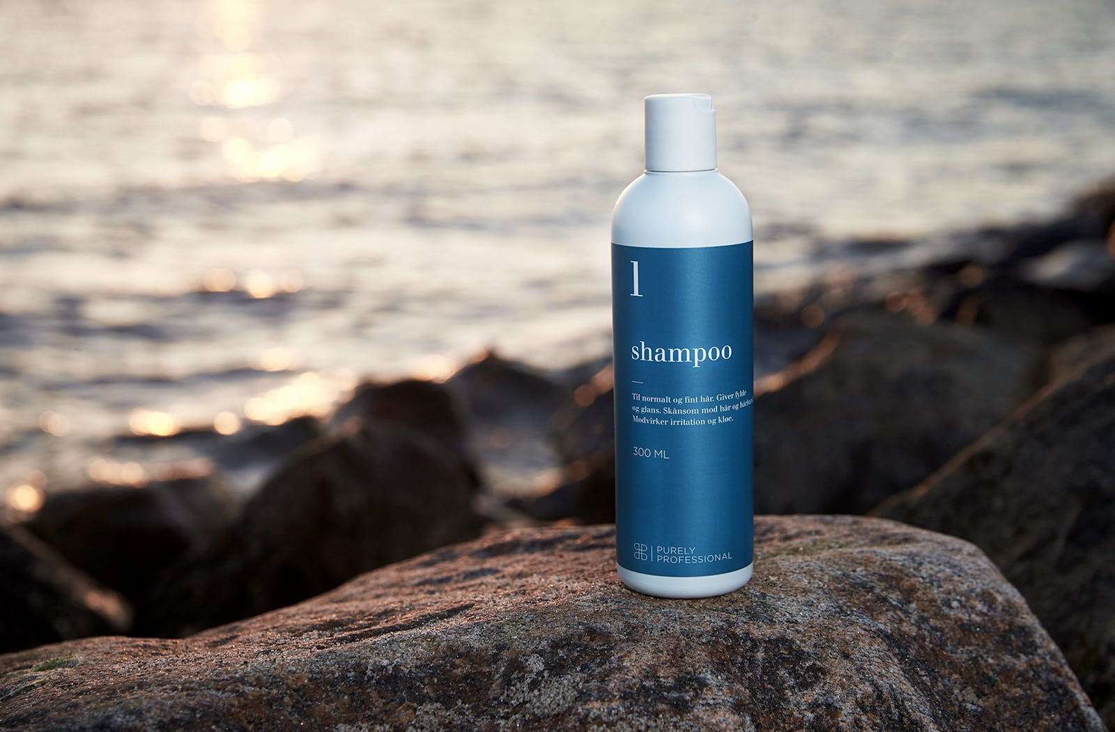 Shampoo 1 i genbrugsflaske