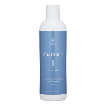 Hverdagsshampoo - shampoo 1