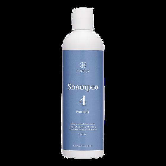 Skælshampoo - shampoo 4