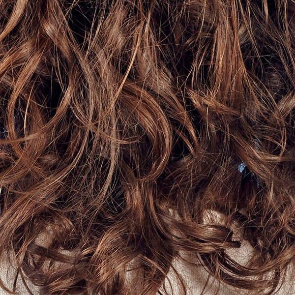 krøller i fint hår