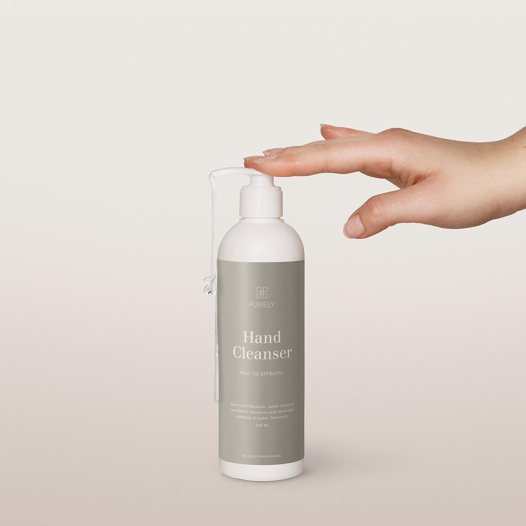 Vasker en mild håndsæbe rent nok? 1